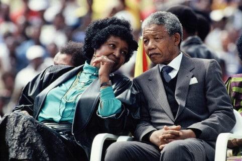 Winnie y Nelson Mandela