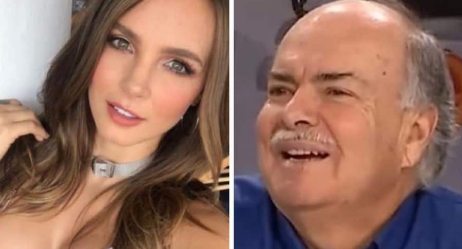 Iván Mejía y Elizabeth Loaiza