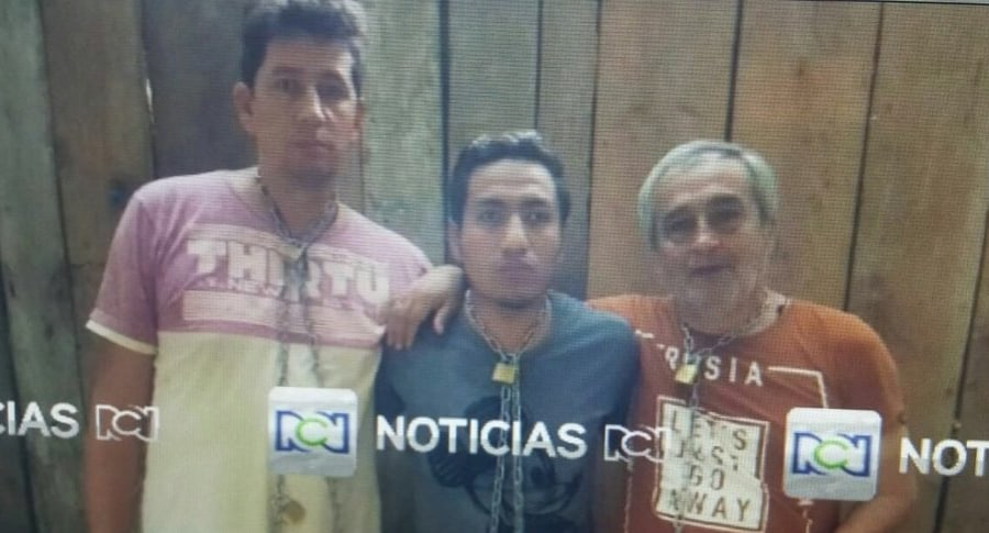 Los 3 periodistas del diario El Comercio de Ecuador, secuestrados hace una semana en la provincia ecuatoriana de Esmeraldas