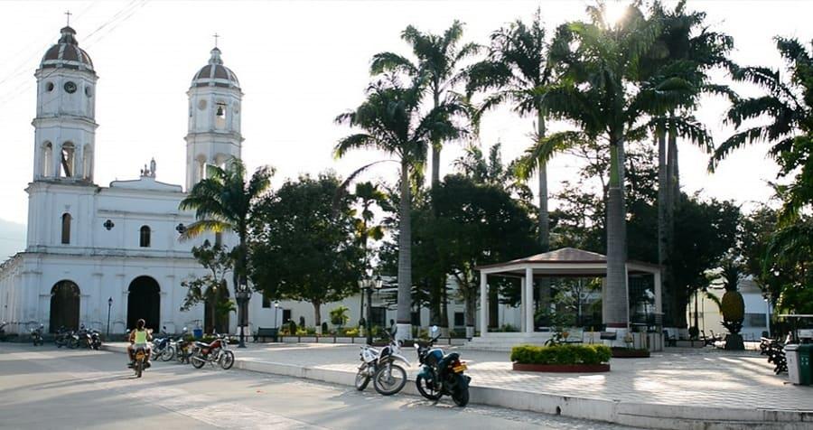 Parque principal de Teorama