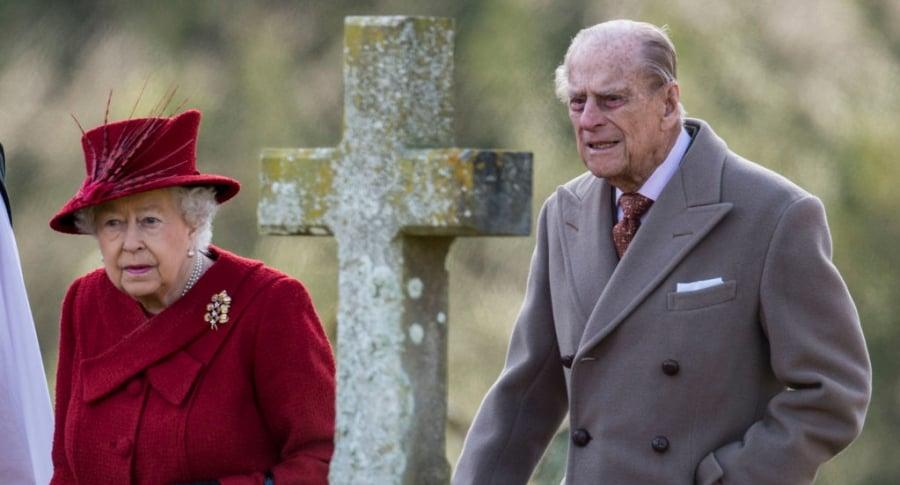 Reina Isabel y el duque de Edimburgo