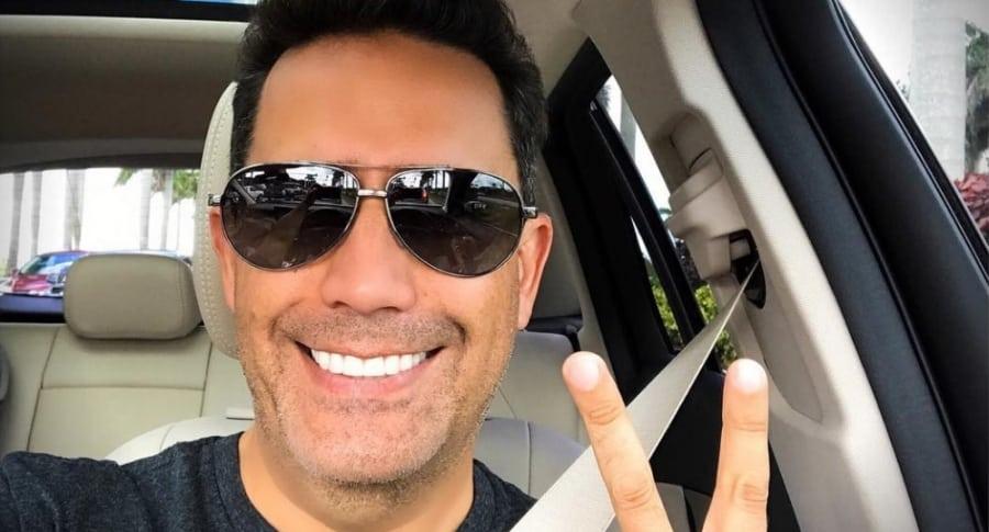 Camilo Montoya, presentador.