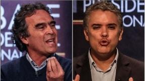 Sergio Fajardo e Iván Duque