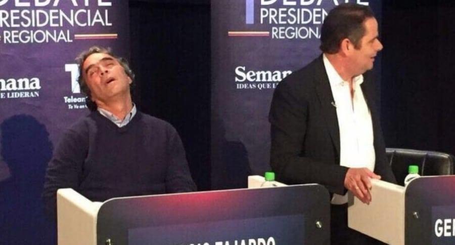 Sergio Fajardo en debate presidencial