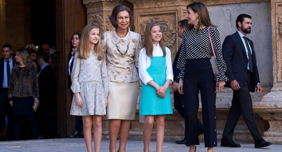 Las reinas, la princesa y la infanta