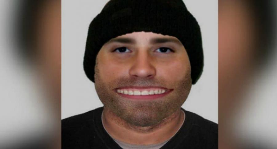 Retrato de presunto ladrón.