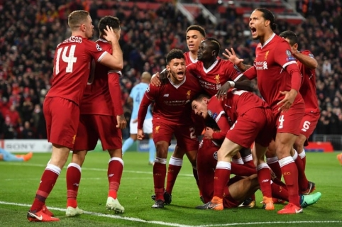 Liverpool vs. Manchester City