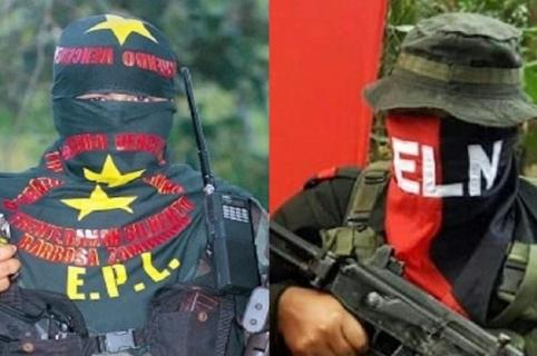 Guerrilleros Epl y Eln