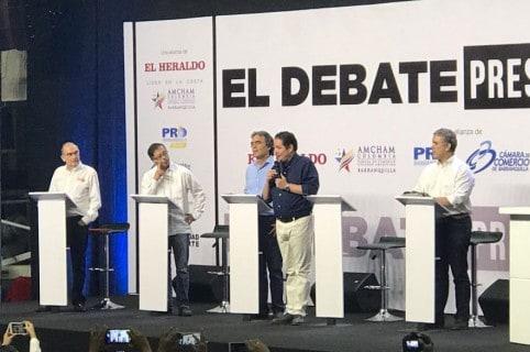 Debate en Caribe