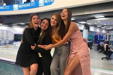 Andrea Jaramillo, María Camila Tabares, Ana Karina Soto y Lizeth Palomin