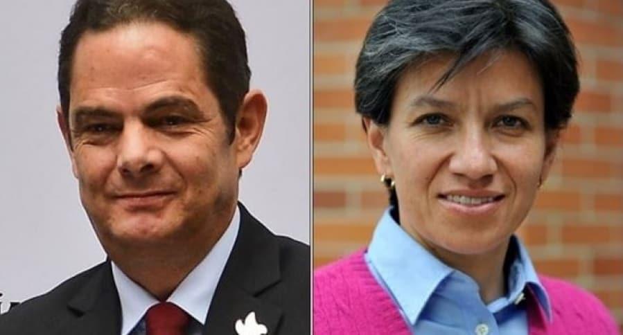 Germán Vargas Lleras y Claudia López