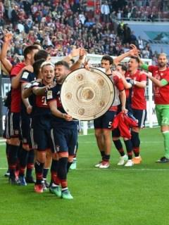Celebración del Bayern Múnich