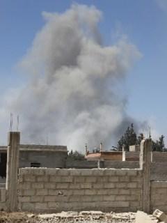 Ataque químico a Siria
