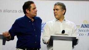 Germán Vargas Lleras e Iván Duque