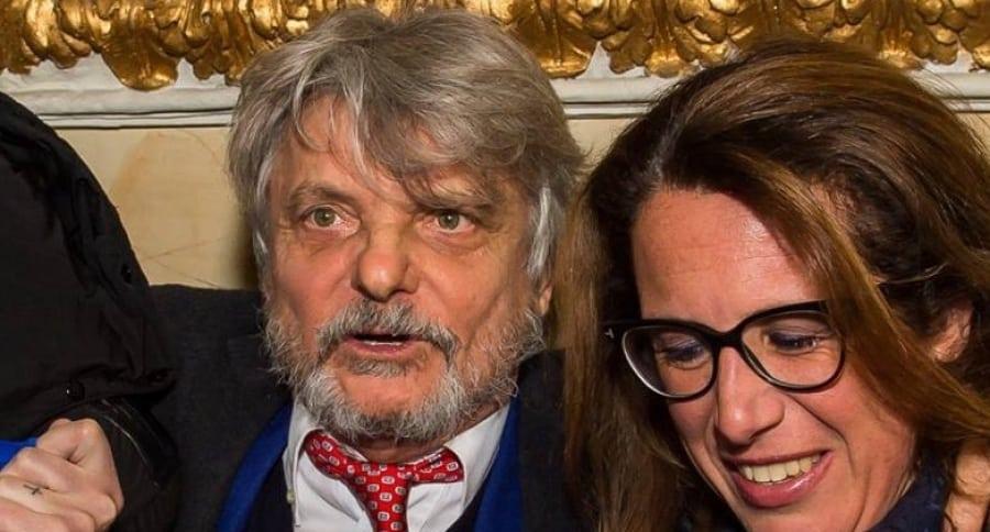 Massimo Ferrero e Ilaria Cavo
