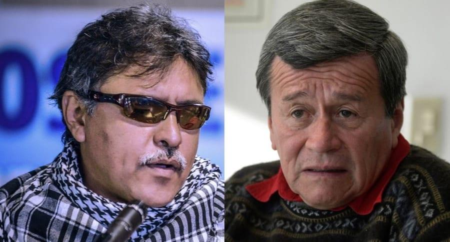 'Jesús Santrich' y 'Pablo Beltrán'