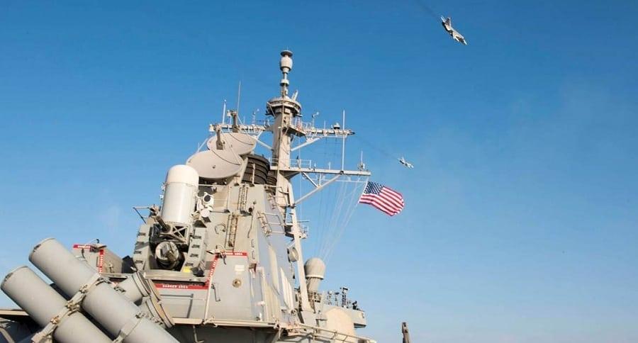destructor lanzamisiles USS Donald Cook