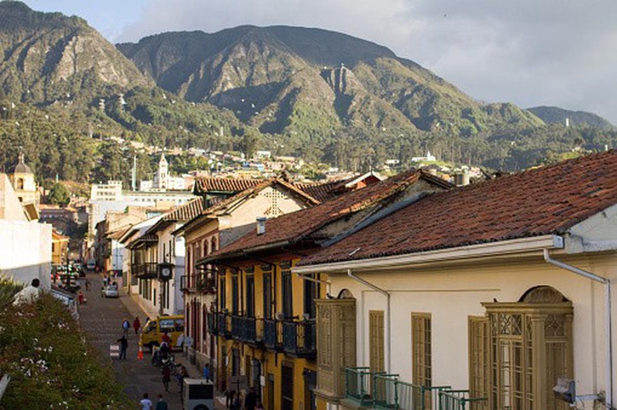 Barrio La Candelaria, en Bogotá