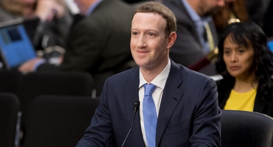 Mark Zuckerberg congreso
