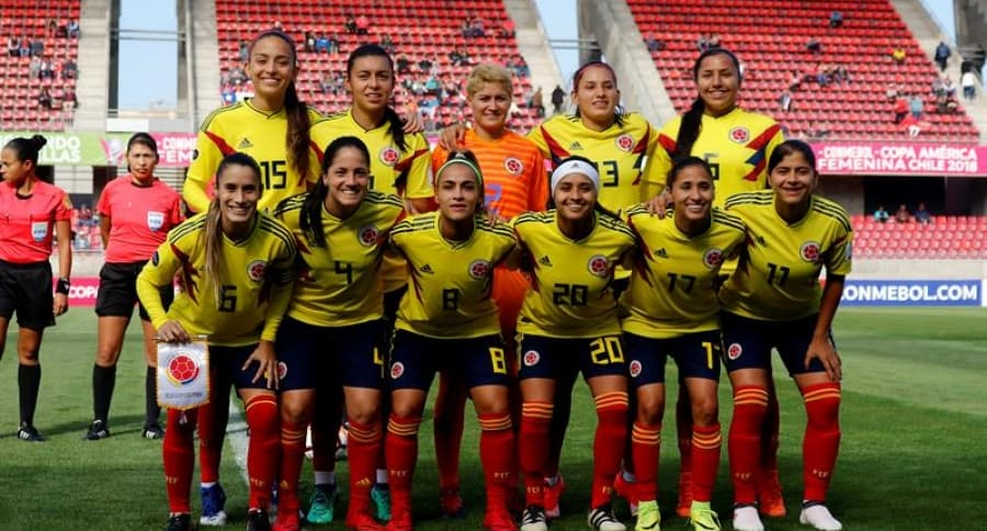 Selección Colombia femenina de fútbol