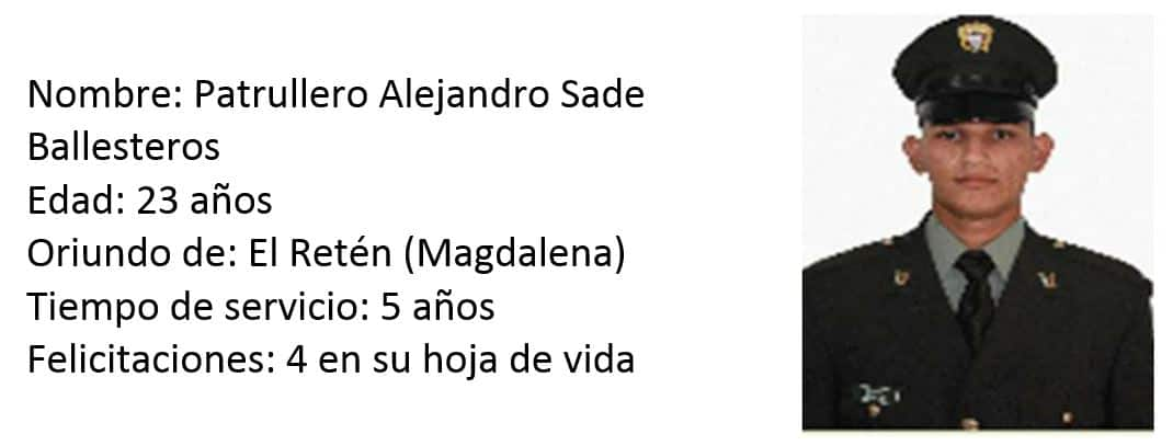 Patrullero Alejandro Sade