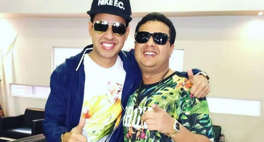 Martín Elías y Rafael Santos Díaz, cantantes y hermanos.