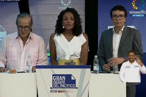 Diego Martínez, Mabel Lara y Daniel Pacheco