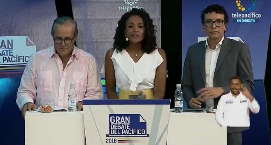 Diego Martínez, Mábel Lara y Daniel Pacheco