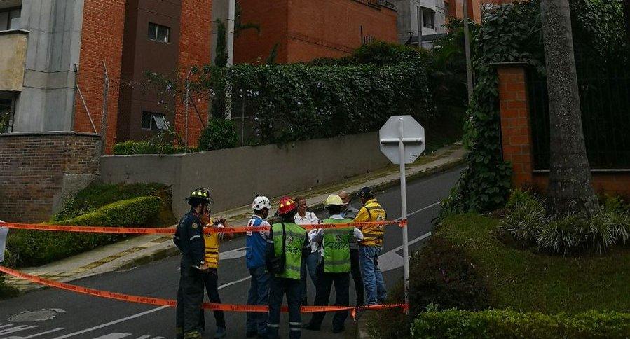 Evacuación en Medellín