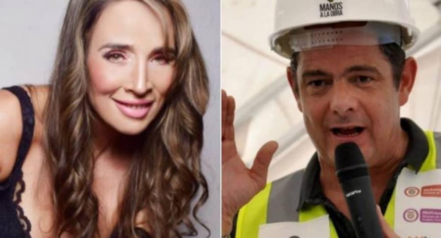 Luly Bossa y Germán Vargas Lleras