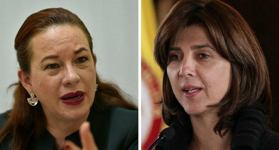 María Fernanda Espinosa y María Ángela Holguín
