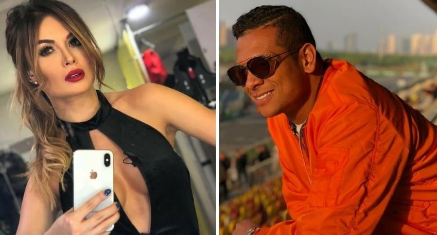 Sara Uribe y Freddy Guarin
