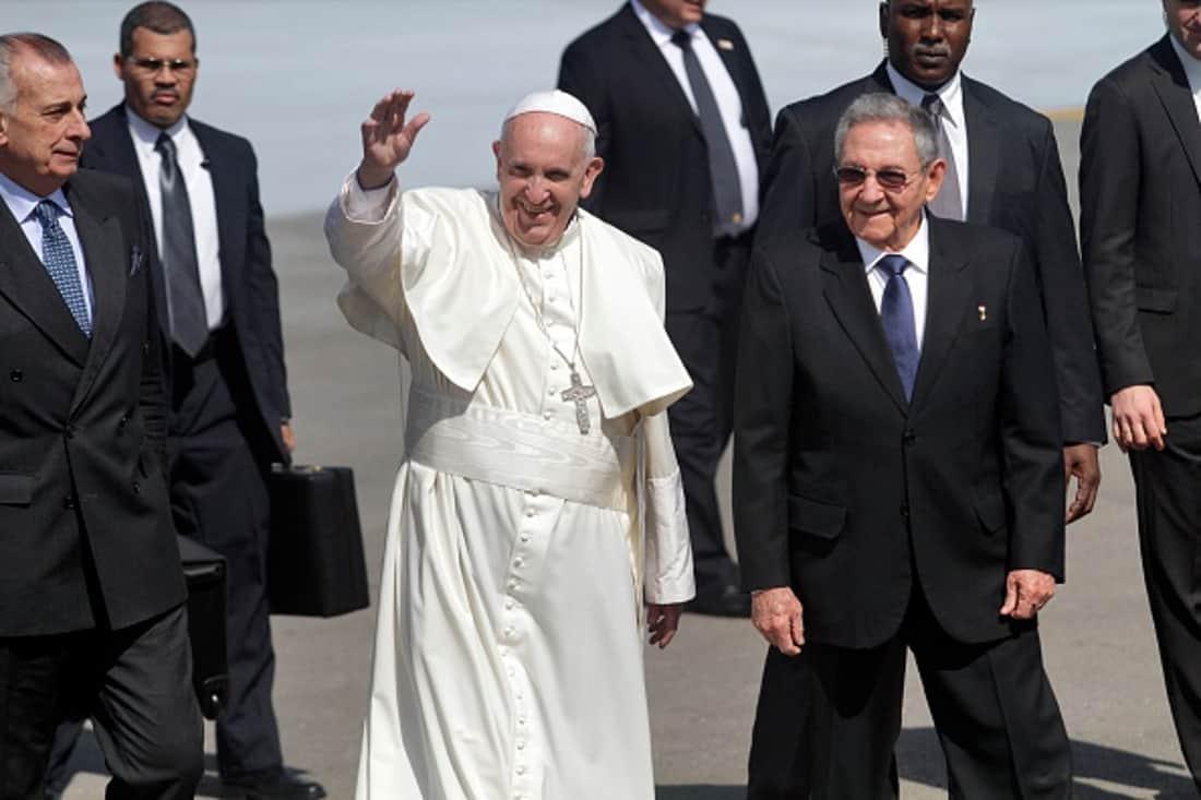 Raúl Castro y Francisco