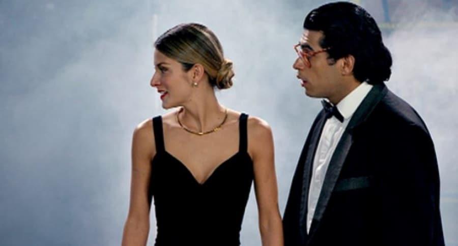 Natalia Jeréz y Santiago Alarcón, actores.
