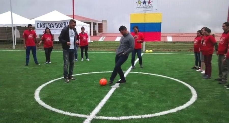 Carlos Valdés y Gerardo Bedoya