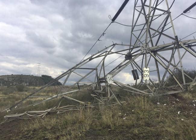 Ataque torre energía