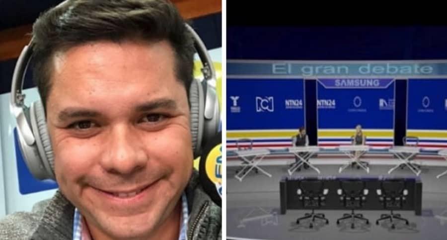 Luis Carlos Vélez y Debate RCN