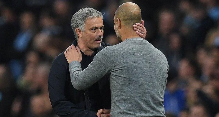 José Mourinho y Josep Guardiola