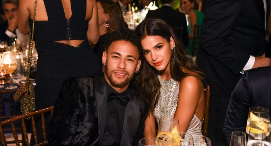 Neymar Jr. y Bruna Marquezine