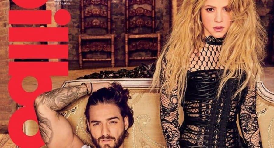 Maluma y Shakira en la portada de Billboard