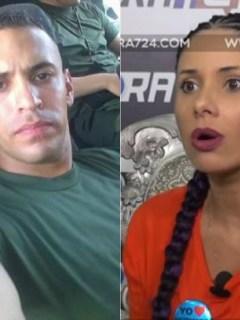 Capitán Yeison Muñoz y Tatiana Álvarez
