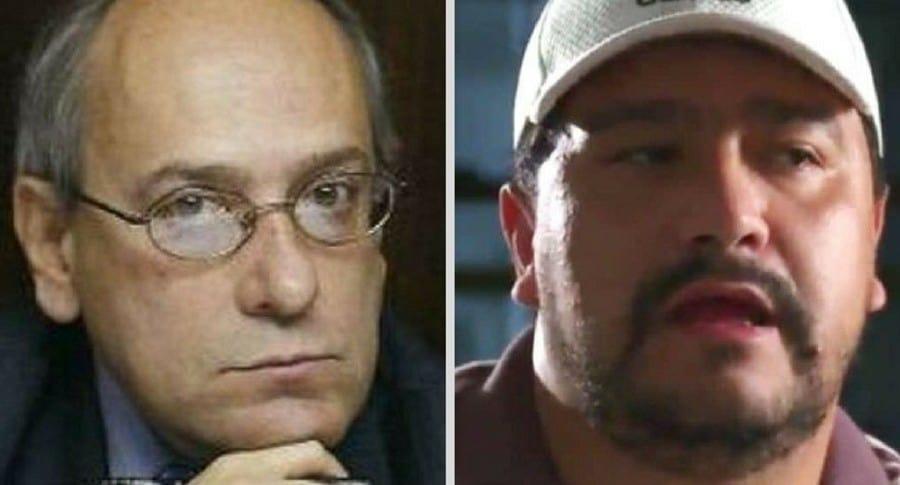 José Obdulio Gaviria y Carlos Areiza