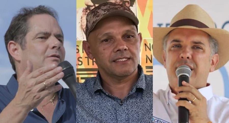 Germán Vargas, 'El Paisa' e Iván Duque