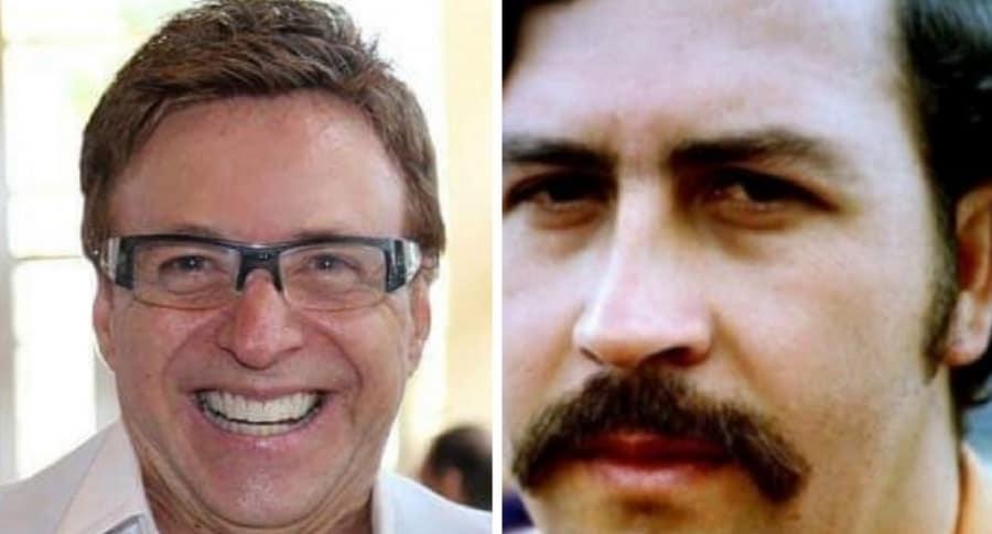 Jairo Martínez y Pablo Escobar