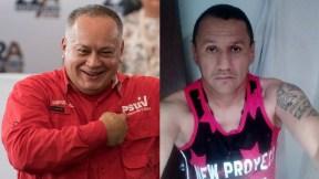 Diosdado Cabello y Marlon Marín