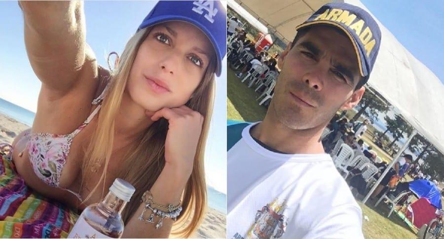 Daniela Estrada, modelo, y Pedro Pallares, actor.