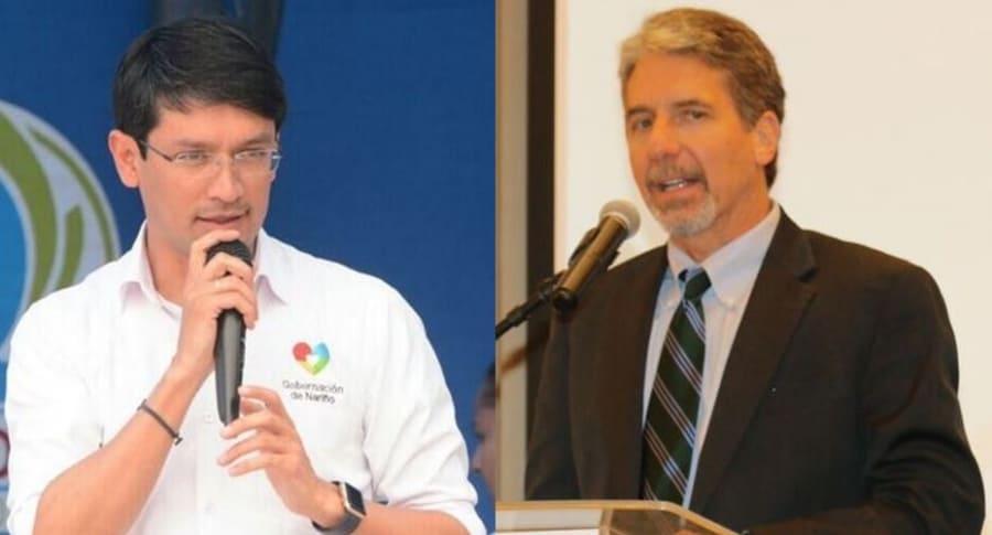 Camilo Romero y Kevin Whitaker