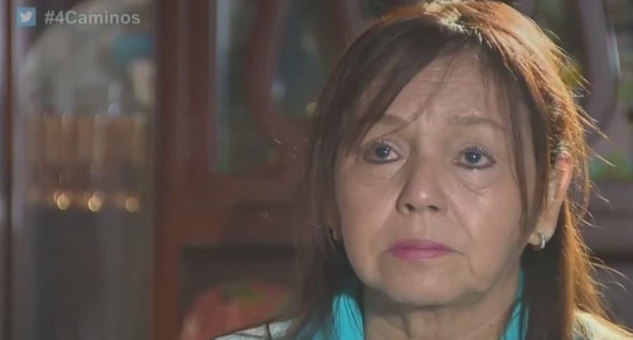 Luz Miriam Medina, madre y esposa de hombres condenados en China por narcotráfico.