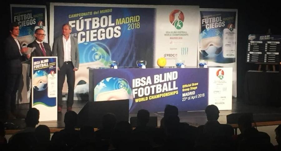 Mundial fútbol para ciegos