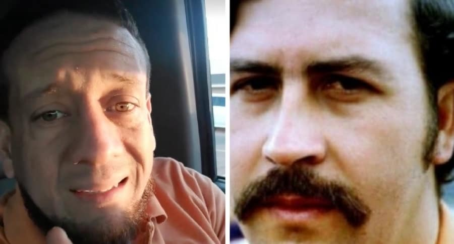 Colombiano y Pablo Escobar